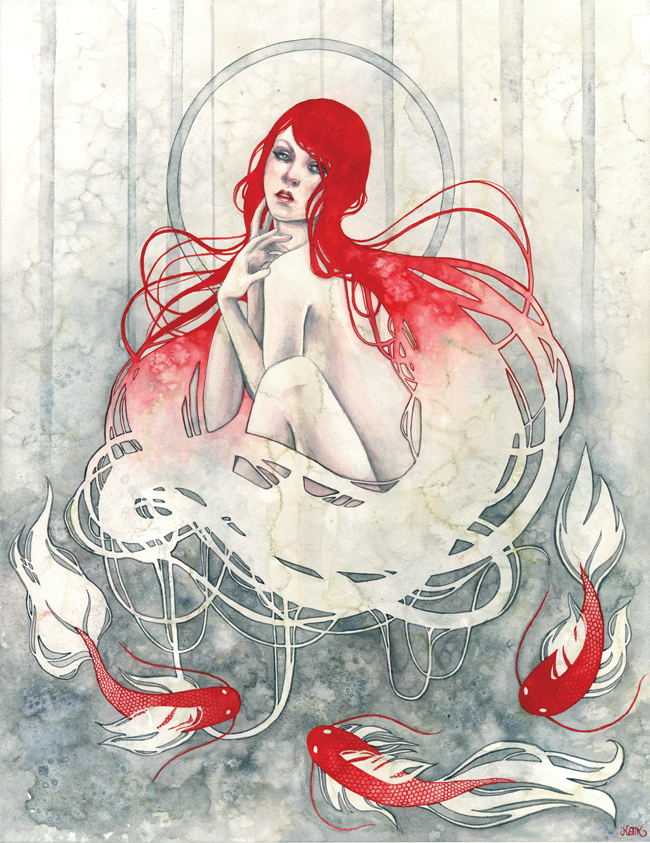 """Panacea"" by Kelly McKernan"